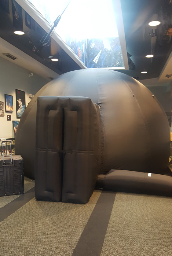 Challenger Center Planetarium